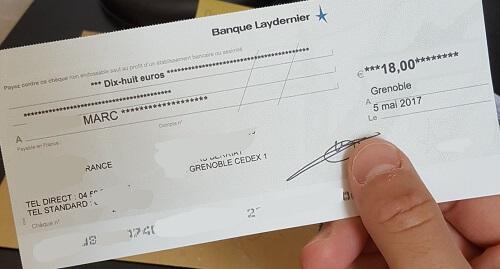 argent en ligne cheque